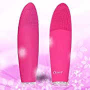 Ozoy Cleaning Face Massager Anti-Growing old Exfoliate Make-up Software for Polish Scrub Nice Acids Peels Cut back Pimples Moveable Pores and skin Cleaner Private Physique Wand Vibration modes & Water Resistant (EXTRA LARGE)