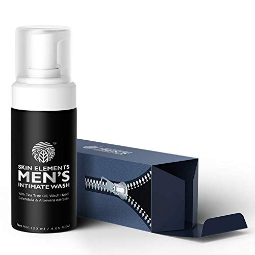 Skin Elements Men's Intimate Wash, 120 ml, Blue