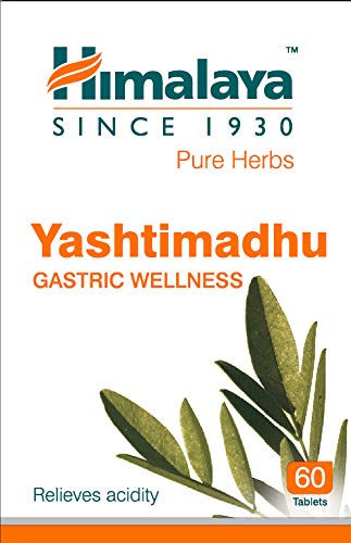 Himalaya Wellness Pure Herbs Yashtimadhu Gastric Wellness - 60 Pill