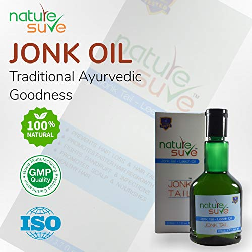 Nature Positive Jonk Tail Ayurvedic Oil And Pure Preparation - 110 ml