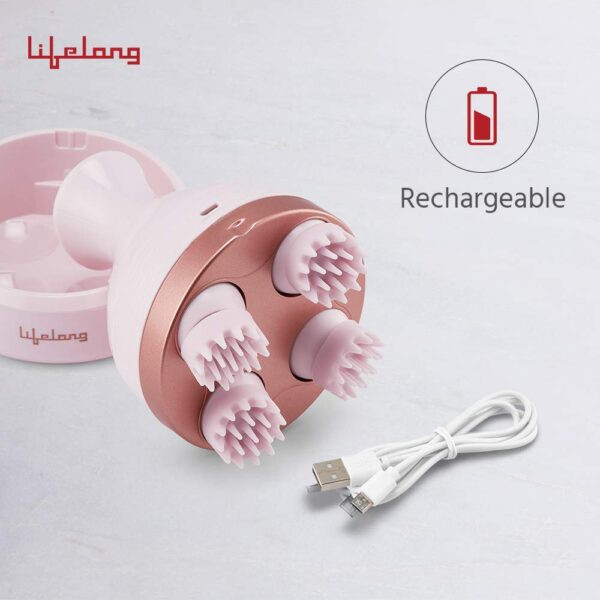 Lifelong LLM225 Rechargeable Head, Scalp and Full Physique Ache Aid Massager