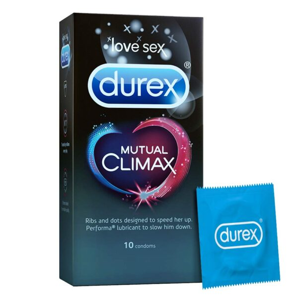Durex Mutual Climax Condoms - 10 Rely