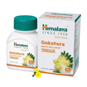 Himalaya Wellness Pure Herbs Males's Wellness Tablets - 60 Items (Gokshura)