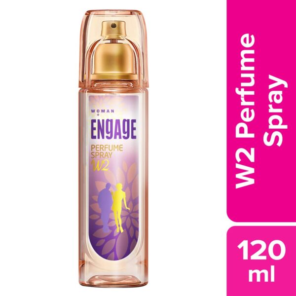 Have interaction W2 Fragrance Spray For Ladies, 120ml