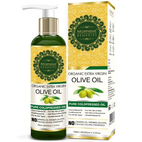 Morpheme Treatments Natural Further Virgin Chilly Pressed Olive Oil, 120ml