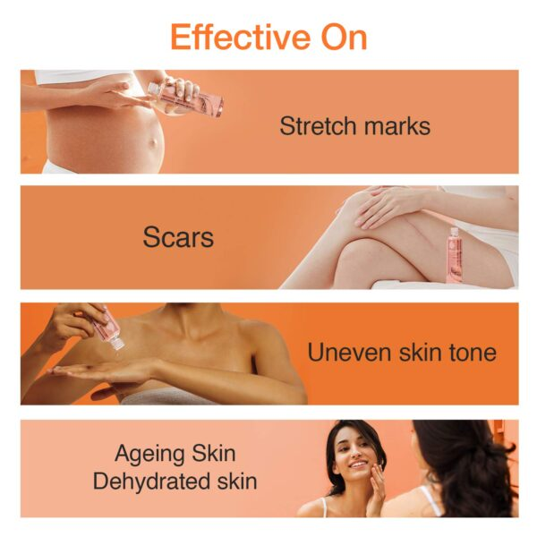 Bio-Oil 200 ml (Specialist Pores and skin Care Oil - Scars, Stretch Mark, Ageing, Uneven Pores and skin Tone)