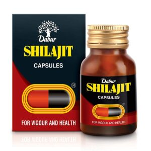 Dabur Shilajit for Vigour and Well being - 100 Capsules