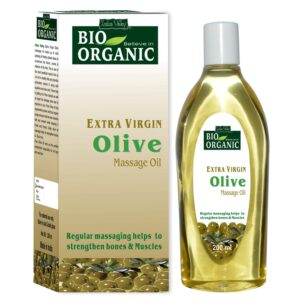 Indus Valley Bio Natural Additional Virgin Olive Therapeutic massage Oil 200ml