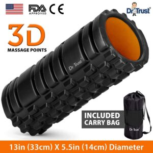 Dr Belief (USA) Lengthy Acupressure Foam Curler For Deep Tissue Muscle Therapeutic massage Train Health and ache aid Tools