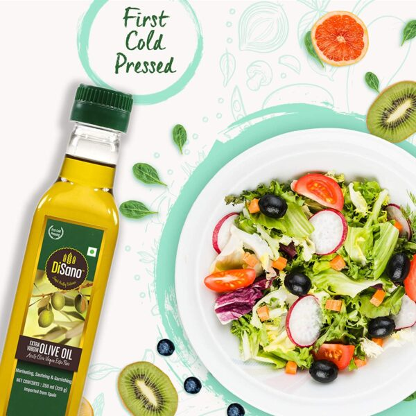 DiSano Further Virgin Olive Oil, First Chilly Pressed, 250ml