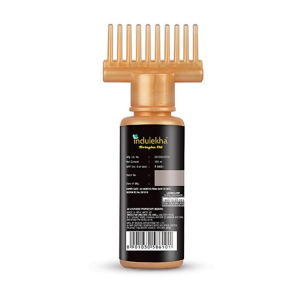 Indulekha Bhringa Hair Oil, 100ml And Indulekha Bringha Anti Hair Fall Hair Cleanser Shampoo, 340ml
