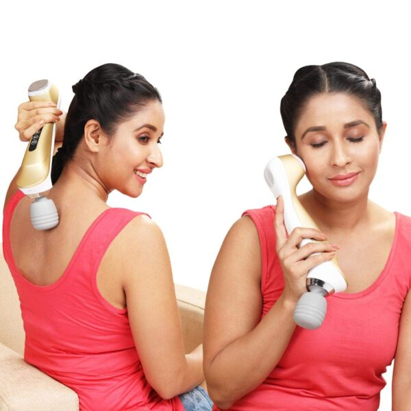 JSB 03 Cervical Neck Massager Machine for Ache Aid with Highly effective Vibration