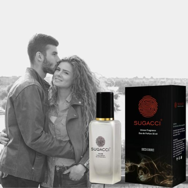 S SUGACCI Sedurre Eau de Parfum - Perfumes for Males and Girls - 50ml - 10 x extra Fragrance than Deodorant - Unisex Scent for Man and Lady