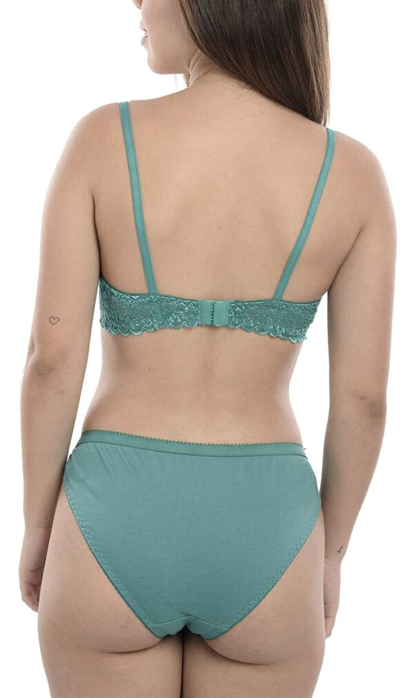 FIMS - Style is my model Girls Cotton Set|Attractive Lingerie for Honeymoon Intercourse|Lingerie Set for Girls|Bra Panty Set for Girls|Innerwear|Lingerie|Multi-Coloration|See First Picture for No of Units You Will Get|