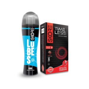 Skore Timeless Condoms 10s and Cool Lubes 50 ml