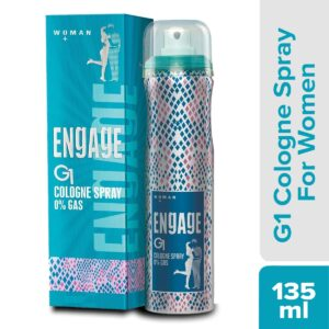 Have interaction Cologne Spray G1 for Ladies, 135ml